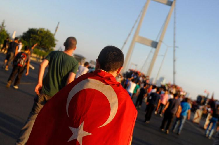 Guardian claims Turkey is engaging in a 'counter-coup'