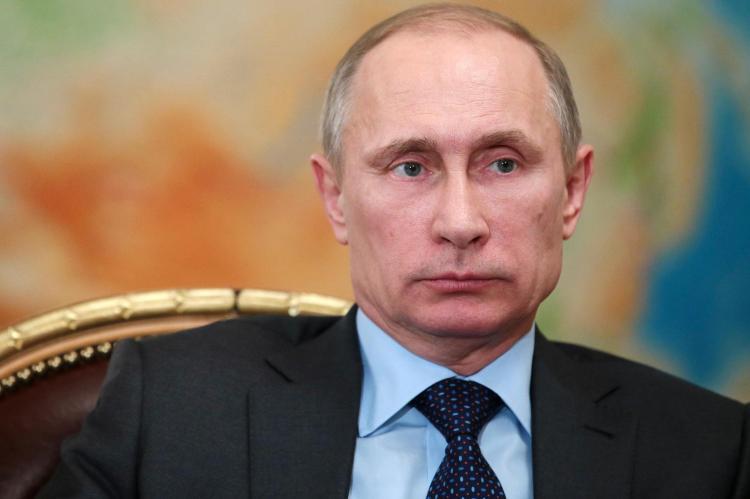The Russian President Vladimir Putin