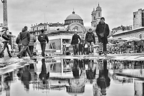 Istanbul's Taksim Square