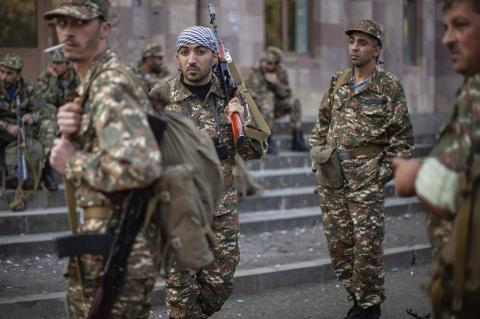 Mercenaries came from Lebanon, Syria, Latin America fight for Armenia